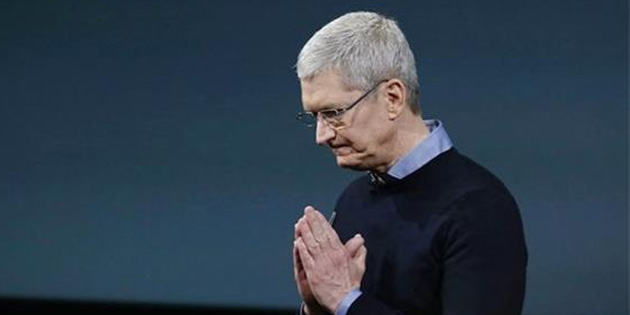 Tim Cook'tan Trump'a itiraz
