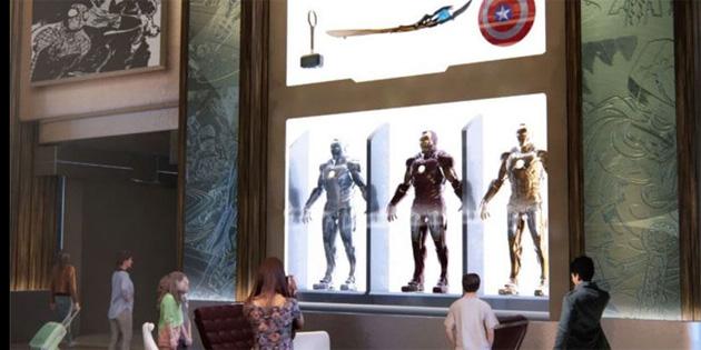 Dünyanın ilk Marvel temalı oteli