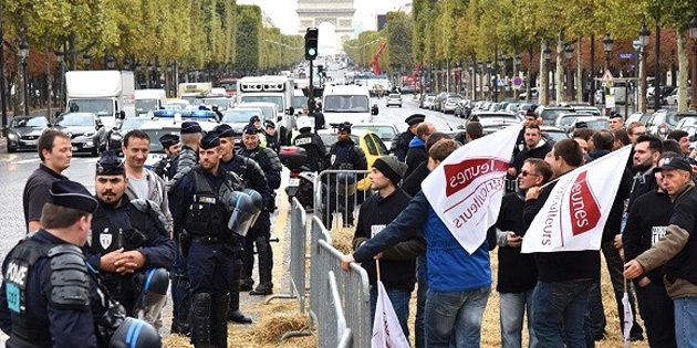 Fransız çiftçilerin ot ilacı eylemi yankı buldu