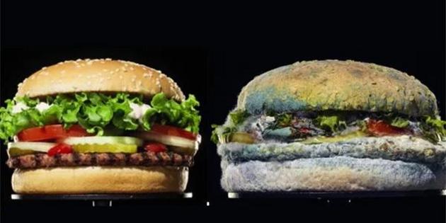 Burger King'in Küflenen Hamburger Reklamına Beklenmedik Bir Yerden Cevap Geldi