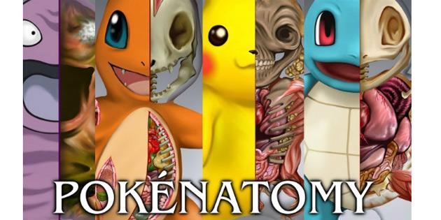 Pokemon anatomi kitabı satışa çıktı!