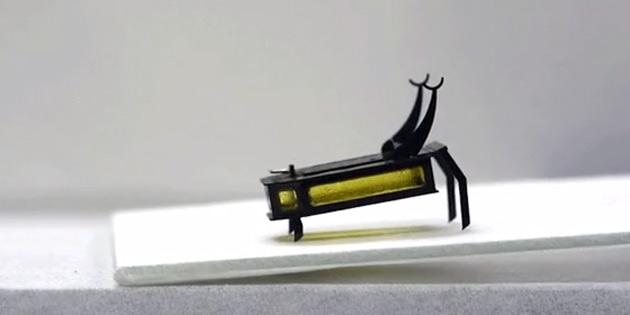 Alkolle çalışan robot geliştirildi: RoBeetle
