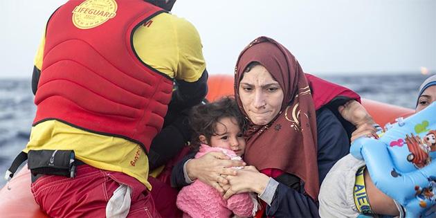 Sığınmacılar için 'Avrupa'nın Akdeniz sınırı en ölümcül bölge'