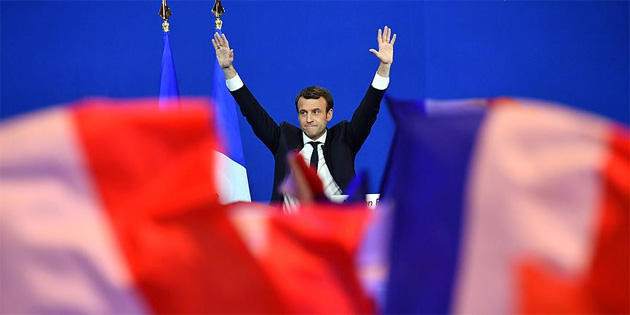 Rus askeri istihbaratı Macron'un kampanyasını hedef almış