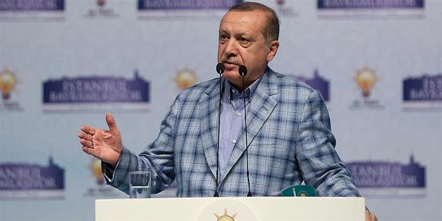TC Cumhurbaşkanı Erdoğan'dan terörü destekleyen ülkelere uyarı