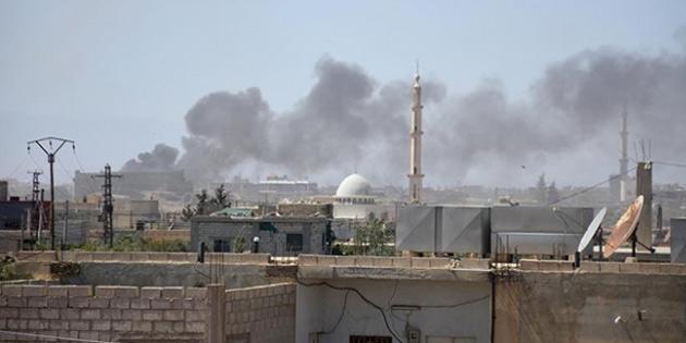 Esed Rejimi ve destekçilerinin Güney cephesine saldırıları sürüyor