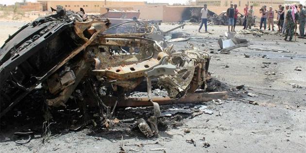 ABD Libya'da hava sald�r�s� d�zenledi