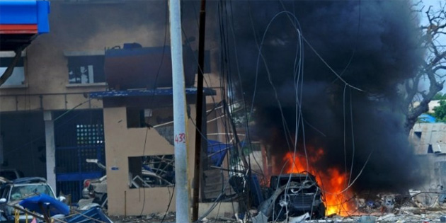 Mogadi�u'da bombal� sald�r�