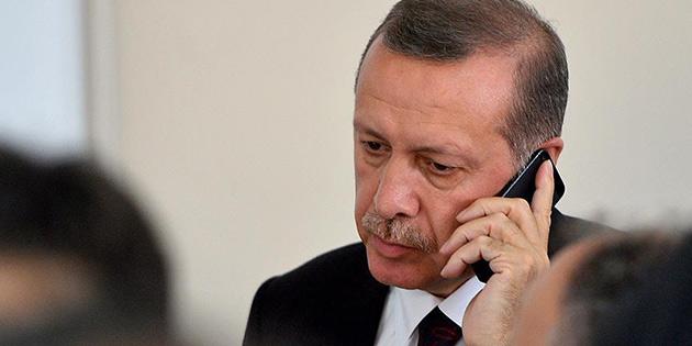 T�rkiye Cumhurba�kan� Erdo�an'dan K�l��daro�lu'na ge�mi� olsun telefonu