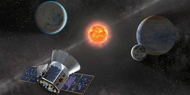 TESS Uzay Teleskobu, ilk aday gezegenlerini keşfetti