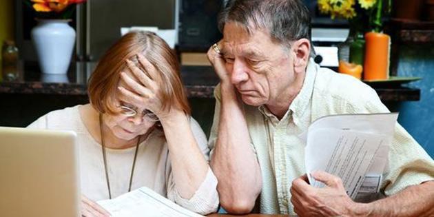 Emekli maaşları arasında uçurum