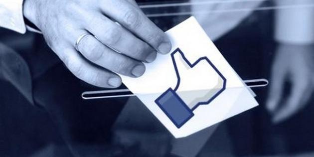 Facebook ile oy kullan�lacak!