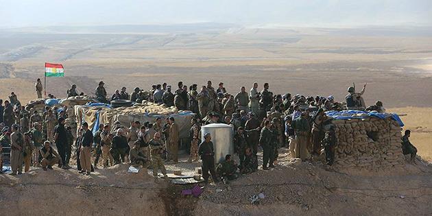 Musul'u DEA�'tan kurtarma operasyonunun 10 g�nl�k bilan�osu
