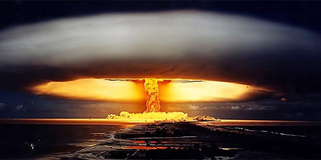 Nükleer bomba yakınınızda patlarsa ne yapmanız gerekiyor?