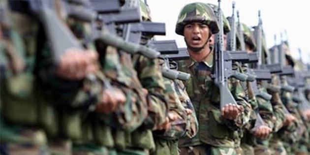 Larnaka'daki bir askeri birlikte 30 asker gıda zehirlenmesi geçirdi