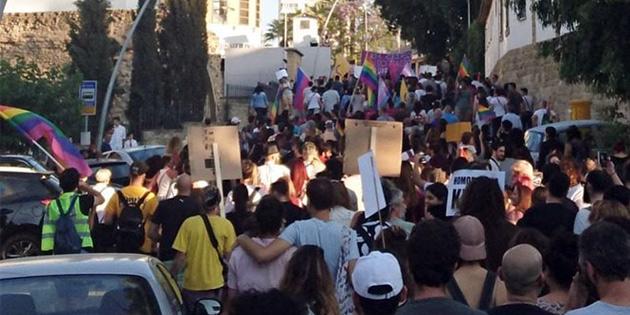 Güneyde LGBT onur yürüyüşü gerçekleşti