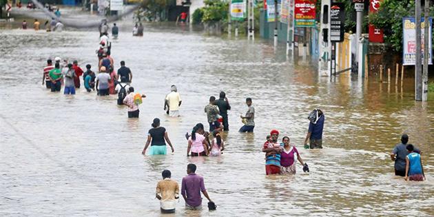 Sri Lanka'da sel felaketi: Ölü sayısı 126'ya ulaştı