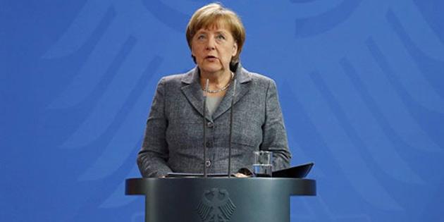 Merkel Ba�bakan, Binali Y�ld�r�m'� tebrik etti