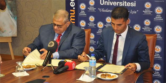 DAÜ ile Alsancak Belediyesi arasında işbirliği protokolü imzalandı