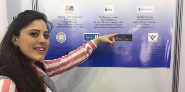 YDÜ Eczacılık Fakültesi 77. FIB Dünya Kongresi'nde temsil edildi