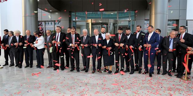 YDÜ Kongre Merkezi ve Sağlık Bilimleri Fakültesi binası törenle açıldı