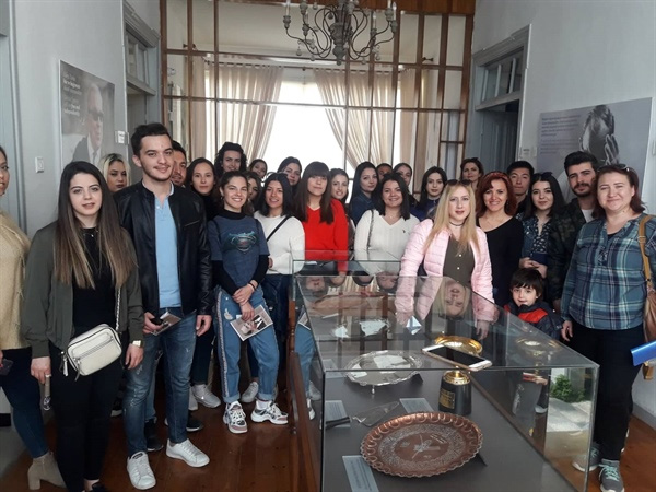 UKÜ sınıf öğretmenliği adayları dr. Fazıl Küçük müzesi'ni ziyaret etti