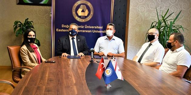 """DAÜ ile """"Deepdive Diving Center"""" arasında dalış turizmi için iş birliği protokolü imzalandı"""