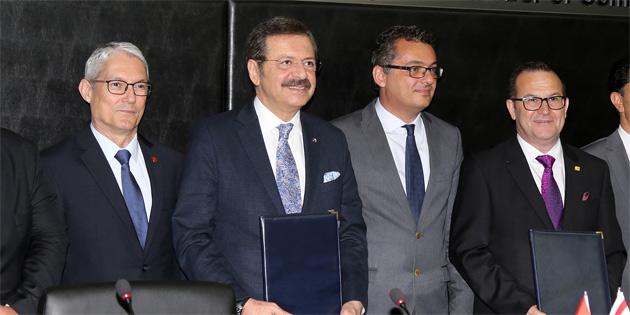 TC-KKTC Ticaret Odası Formu oluşturulmasına yönelik protokol imzalandı