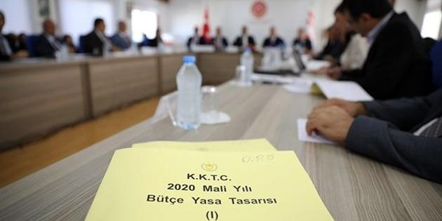 2020 Mali Yılı Bütçe Yasa Tasarısı, 9 Aralık'ta Meclis Genel Kurulu'nda görüşülmeye başlanacak