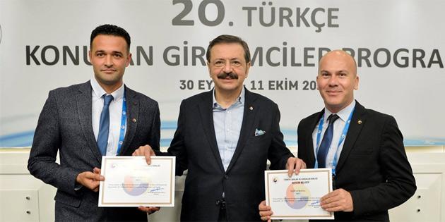 TOBB 20. Türkçe Konuşan Girişimciler Programında GİAD da temsil edildi