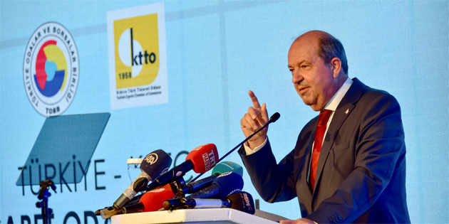Türkiye - KKTC Ticaret Odası Forumu 1. Ekonomi Konferansı başladı