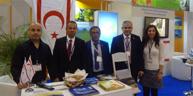 KKTC, Azerbaycan uluslararası seyahat ve turizm fuarında yer aldı