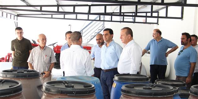 Nami, Şahali ve Ataoğlu, Arsal Gıda Sanayi'yi ziyaret etti