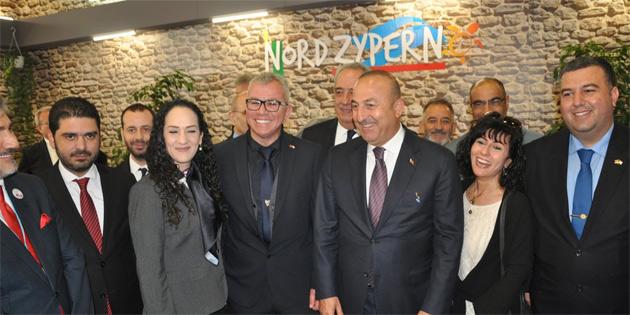 """Kuzey Kıbrıs ITB Berlin Turizm Fuarı""""nda tanıtılıyor"""