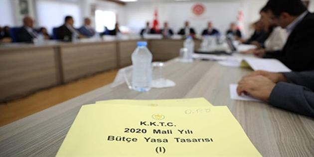 2020 Mali Yılı Bütçe Yasa Tasarısı görüşmeleri meclis genel kurulu'nda başlıyor
