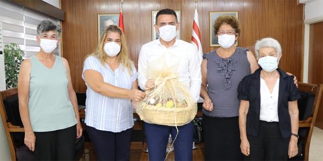 Maliye Bakanı Oğuz, 4K KOOP yönetim kurulu başkanı ve üyelerini kabul etti