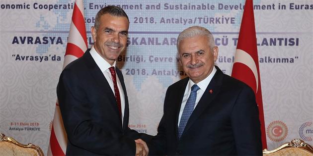 """""""Türkiye-KKTC arasındaki ticarette TL kullanımı gündeme geldi"""""""