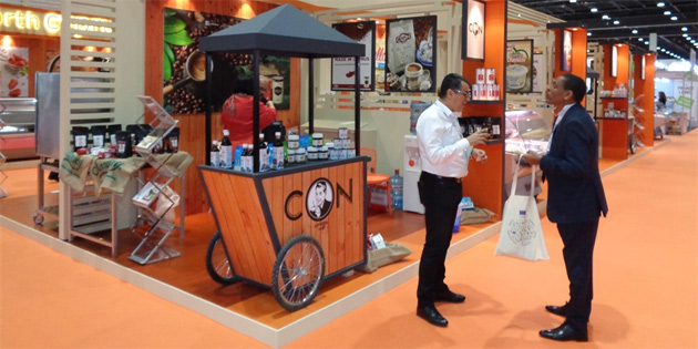 KKTC SIAL Middle East Gıda Fuarı'nda