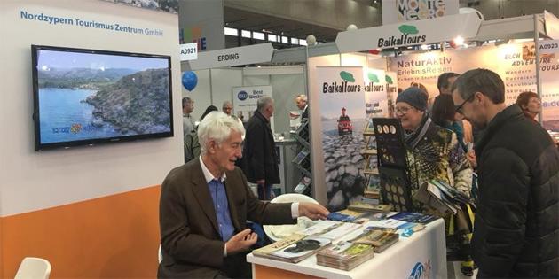 """KKTC """"Ferien Messe - 2018"""" turizm fuarında tanıtıldı"""