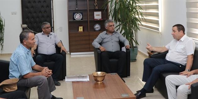 Maliye Bakanı Denktaş, Kıbrıs Türk Esnaf ve Zanaatkârlar Odasını kabul etti
