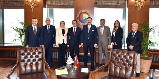 Ticaret Odası Ankara'da Türkiye ile ticarette yaşanan sıkıntıları görüştü
