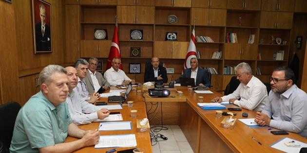 İkinci Ekonomik Tedbirler ve Destek Paketi üzerindeki son çalışmalar Başbakanlık'ta yapıldı