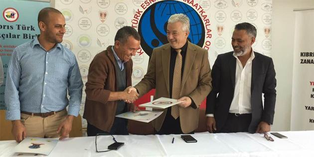 Esnaf odası ile emlakçılar birliği arasında iş birliği protokolü imzalandı