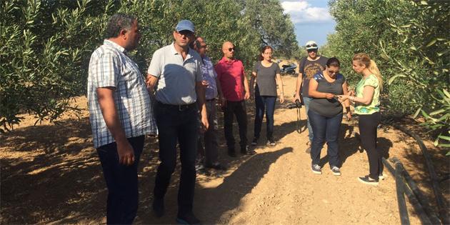Tarım Dairesi üreticileri bilgilendirme çalışmaları için Mehmetçik'te