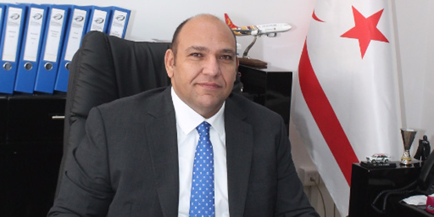 """Atakan: """"Ercan Havalimanı 2018'i 4 milyon artı yolcuyla kapattı"""""""