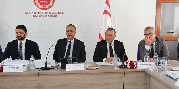 Turizm ve Çevre Bakanlığı bütçesi komitede görüşülüyor