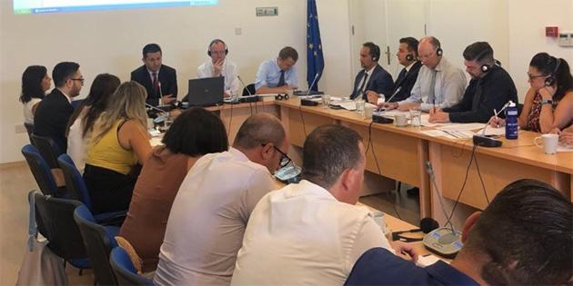 KKTC-Avrupa Birliği Mali Yardım Gözden Geçirme Toplantısı yapıldı