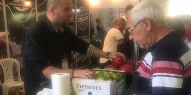 KKTC ürünleri Anamur Tarım ve Gıda Fuarı'nda görücüye çıktı