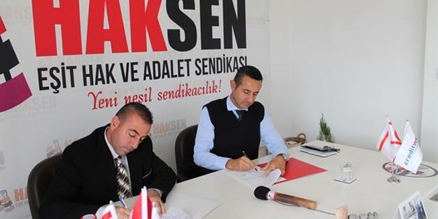 HAKSEN ile Creditwest Bank arasında iş birliği protokolü imzalandı