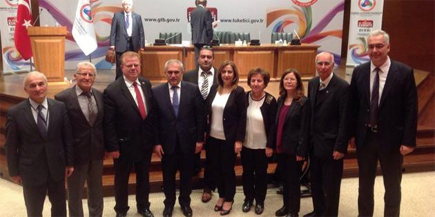 KKTC, Ankara'da 20. T�ketici Konseyi'nde temsil edildi